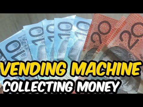 Vending Machine Collection Day :In Australia
