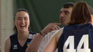 Тренировка женской сборной Украины по баскетболу на сборе в Пуще-Водице. Киев 16/05/2017