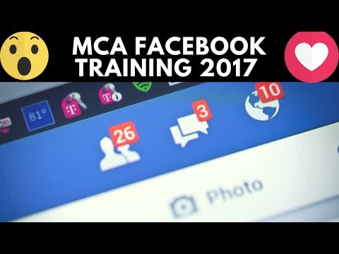 MCA Facebook Training 2017 With Alex Haney