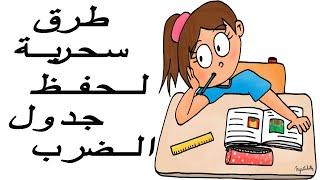 طريقة سحرية لحفظ جدول الضرب -الجزء 1- The Easiest Way to Memorize the Multiplication Tables