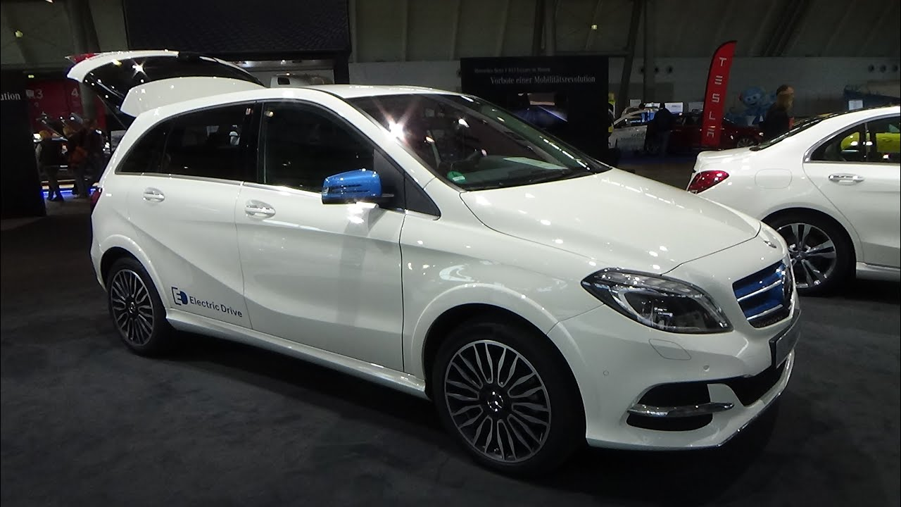 2015 Mercedes Benz B Klasse Electric Drive Exterior And Interior