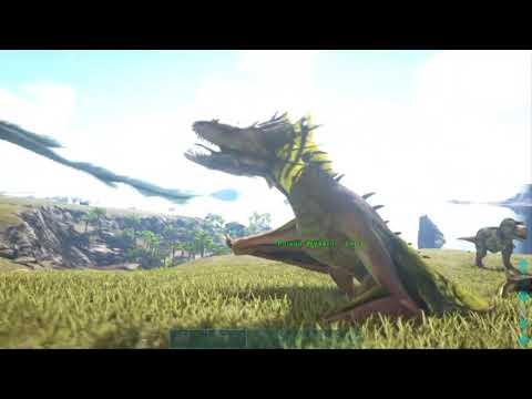 ARK: How To Spawn In All 4  Wyverns