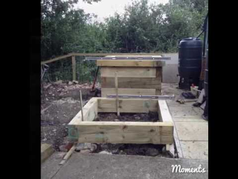 How to build Raised Vegetable Beds Claystacker. 🌽🍆🍅🍓 .