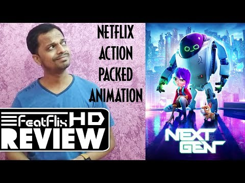 Next Gen (2018) Netflix Animation, Action, Adventure Movie Review In Hindi | FeatFlix