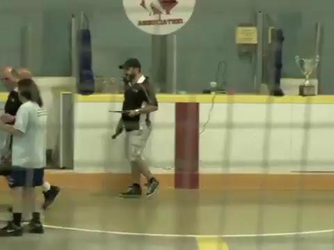 Ontario Ball Hockey Federation Men's D Final Windsor Misfits vs Toronto's Hard as Puck