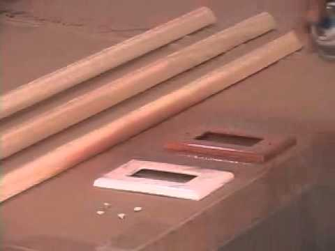 Wood Molding and Switch Plate Painting Techniques for Tin Backsplashes