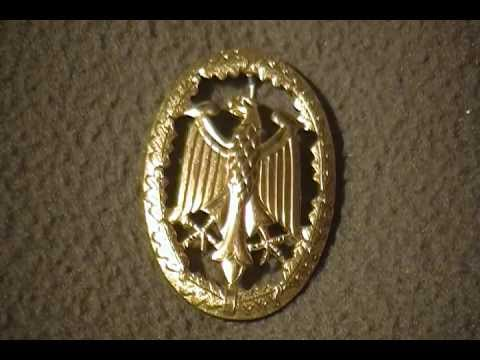 German Military Badge Medal East German West German post WW2 Award