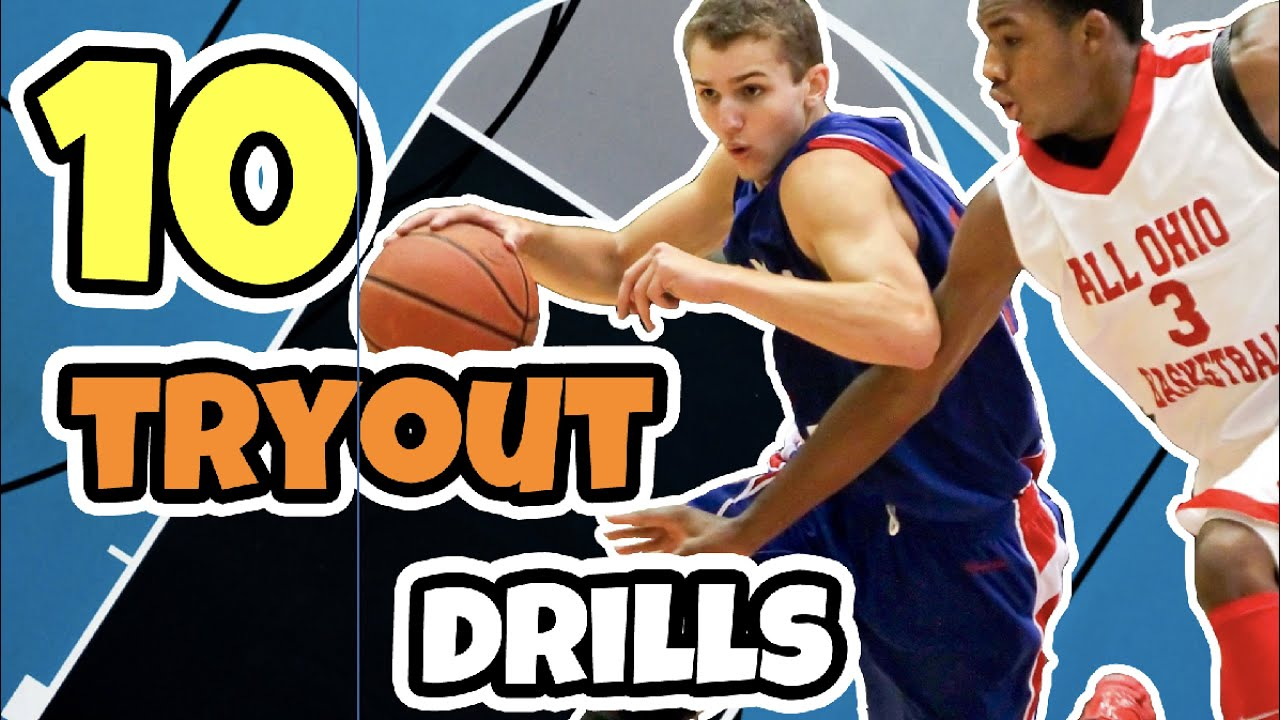 10 Basketball Tryout Drills To Evaluate Players
