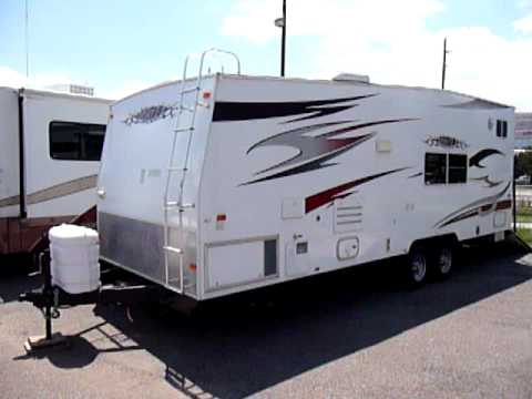Used 2006 Thor Vortex 257 Toy Hauler Youtube