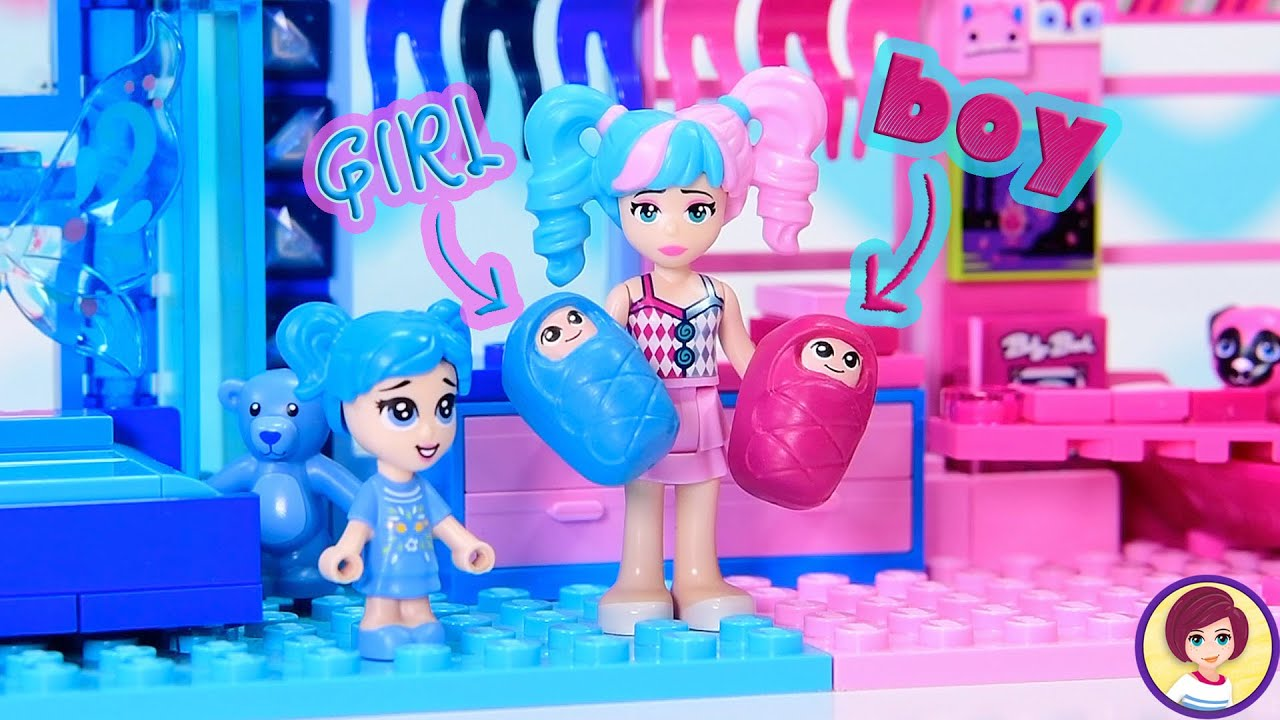 Download Blue is for girls, pink is for boys, wait WHAT?? LEGO build challenge with a TWIST