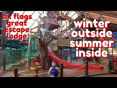 Our Family Vacation @ Six Flags Great Escape Lodge & Indoor Waterpark