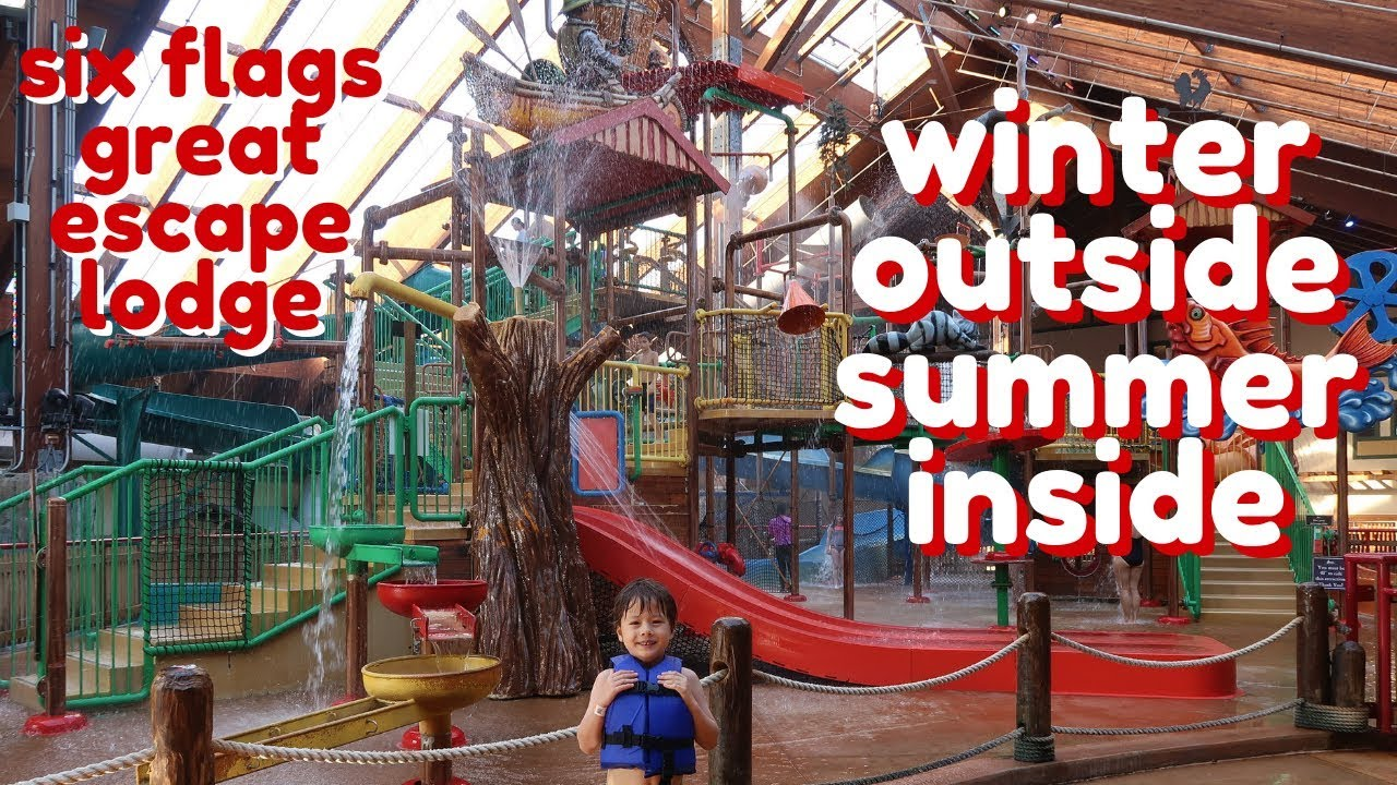 Our Family Vacation Six Flags Great Escape Lodge Indoor Waterpark