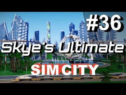 SimCity 5 (2013) #36 ▶Omegacow (1) New Crazy Ideas - SimCity Cities of Tomorrow