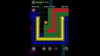 FLOW FREE extreme pack 9X9 all levels