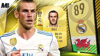 Fifa 18 bale review | 89 bale player review | fifa 18 ultimate team