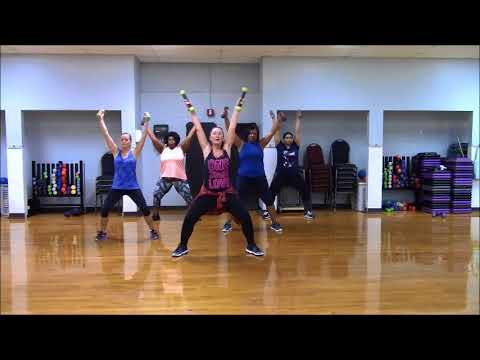 16 shots ~ Stefflon Don ~ Zumba® Toning with Holly Whyte