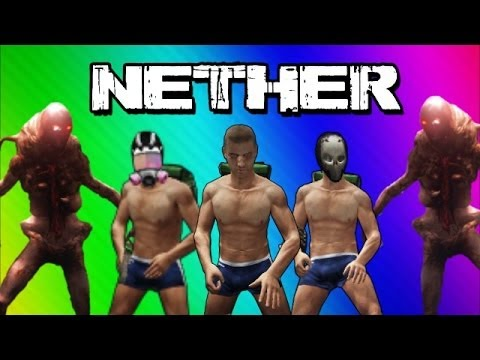 Nether Gameplay Funny Moments (The 3 Noobs)