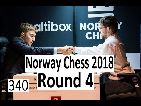 Norway Chess Round 4: Playing against opponent, engine and team!
