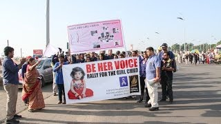 International Day for the Girl Child - Rally at Chennai