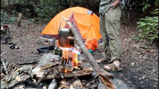 Hiking, Camping Fork Mountain Trail Solo Overnight