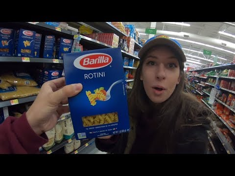 cosa vendono nei supermercati americani? WALMART TOUR