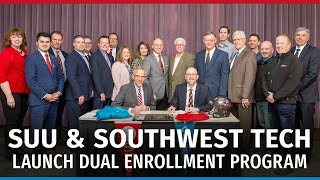 SUU & Southwest Tech: Dual Enrollment Program