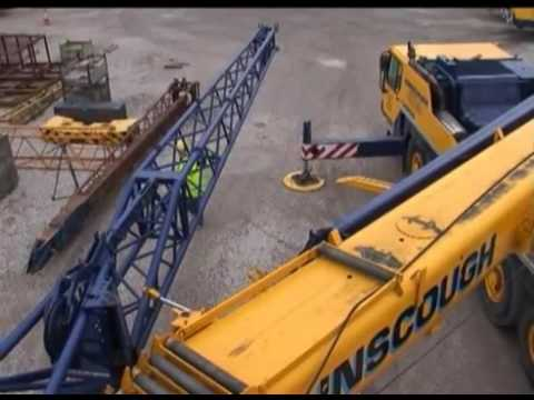 Ainscough Training Services -  Rigging The Fly Jib
