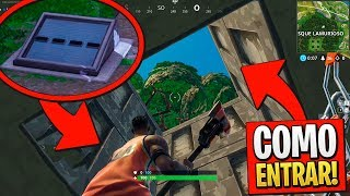 HOW TO ENTER THE SECRET BUNKER OF THE LAMURIOUS GROVE! FORTNITE BATTLE ROYALE