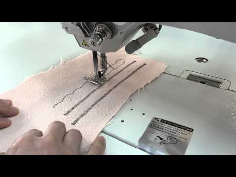 threading a brother db2 b735 industrial sewing machine. Black Bedroom Furniture Sets. Home Design Ideas