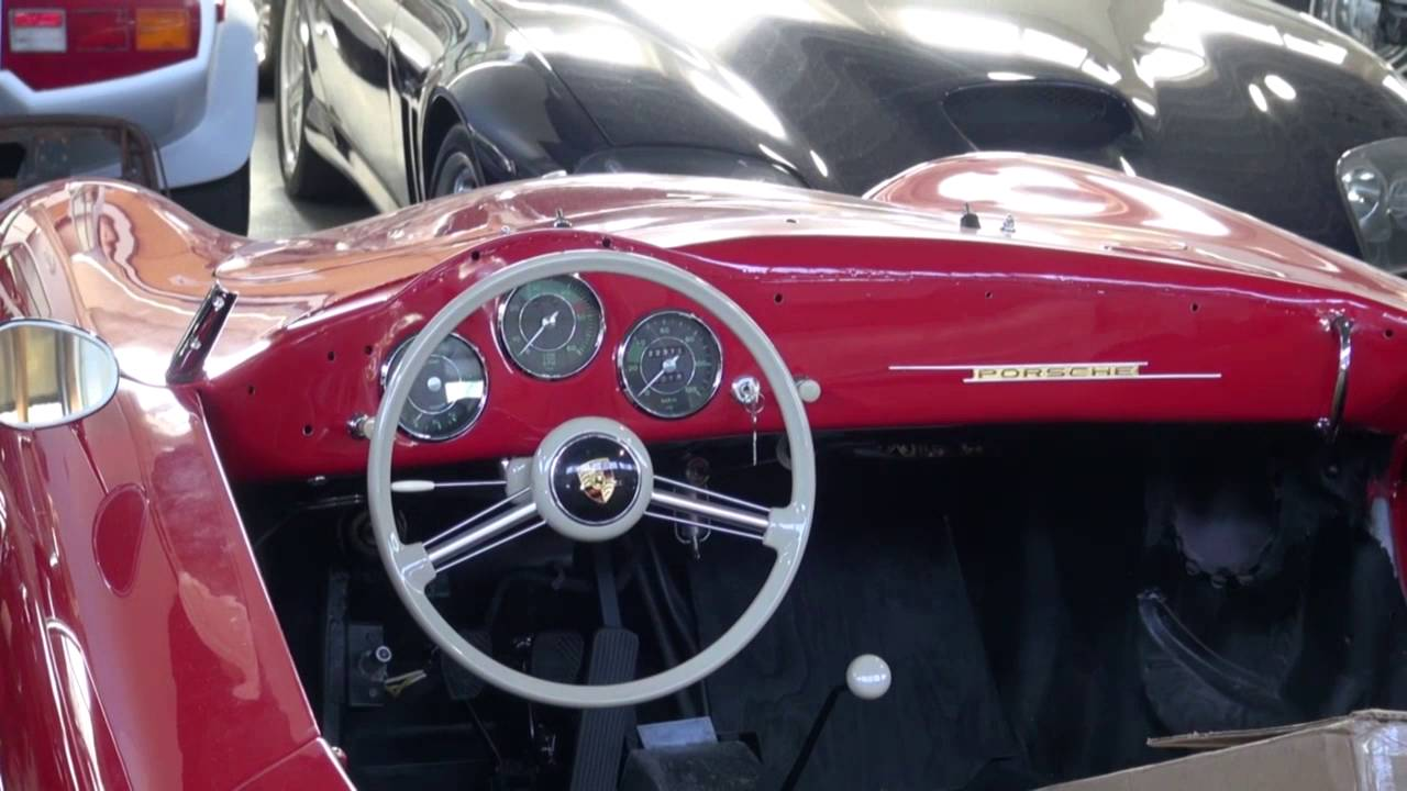 Porsche Speedster Interior Restoration By Cooks Upholstery