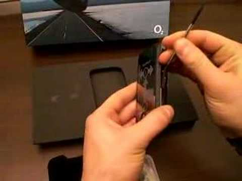 Unpacking HTC Touch Cruise O2 xda2 Part II