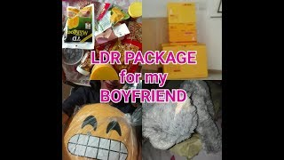 A SURPRISE CARE PACKAGE FOR MY BOYFRIEND | LDR GIF