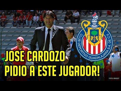 INCREIBLE! ESTE ES EL JUGADOR QUE JOSE CARDOZO QUIERE PARA CHIVAS!