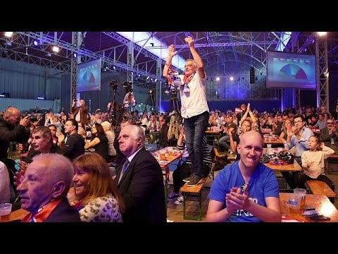 Austria: Election night celebrations
