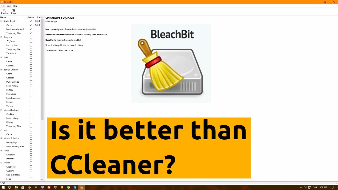 Bleach Bit