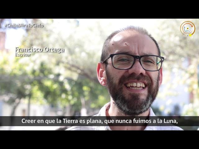 Desde el mundo de la literatura: Francisco Ortega te invita a participar del Día de la Astronomía
