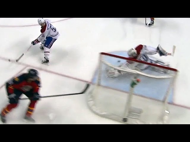 Scrivens reacts for super left pad stop