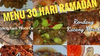 Download Video MENU 30 HARI PUASA | TIPS PRAKTIS RAMADAN MP3 3GP MP4