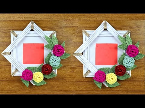 how-to-make-genius-photo-frame-out-of-paper-|-easy-paper-crafts-ideas-|-paper-crafts-step-by-step