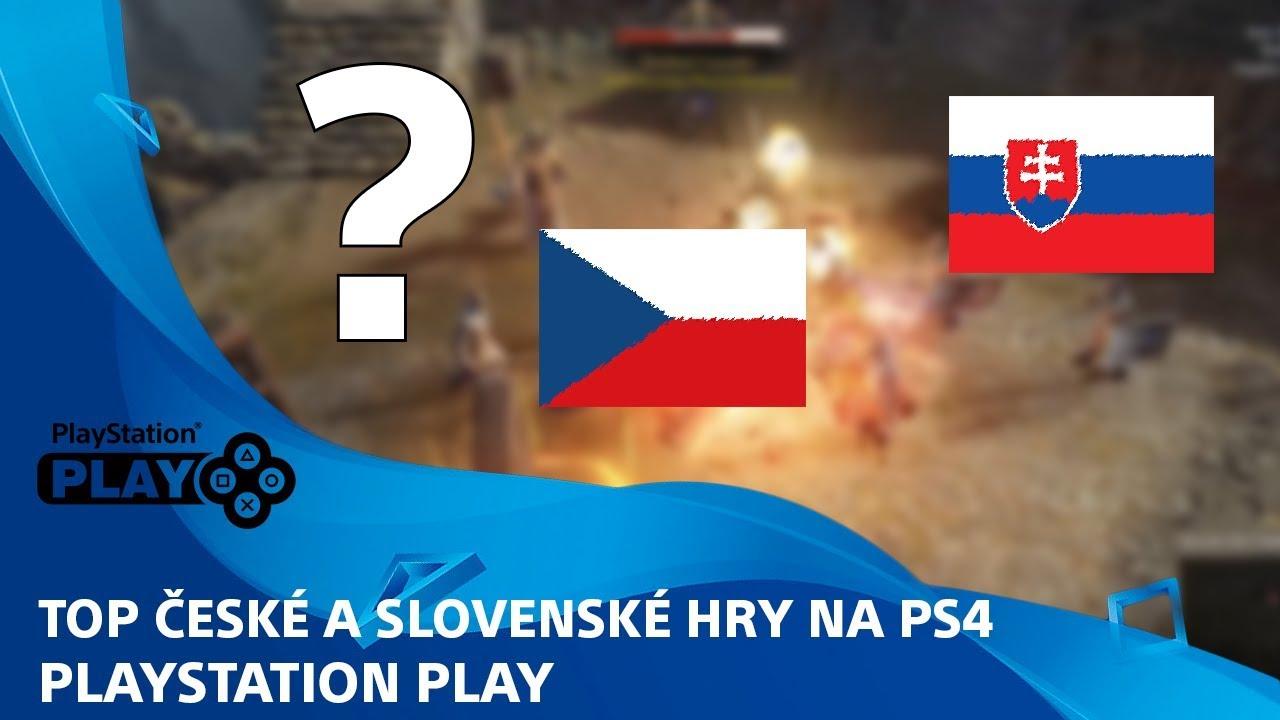 TOP české a slovenské hry na PS4 | PlayStation Play