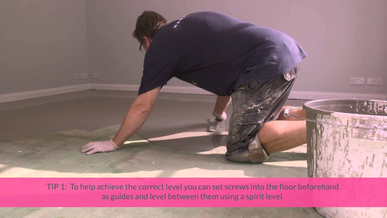 A Brief Guide To Laying Your Self Levelling Screed Subfloor