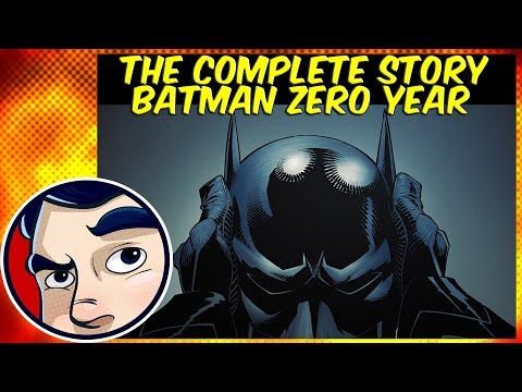 "Batman Zero Year #1 ""Secret City"" - Incomplete Story"