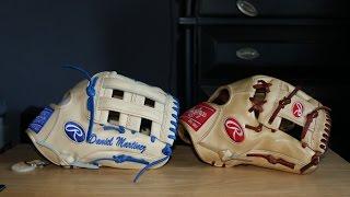 Rawlings Pro Preferred Custom PRO1000 12 1/4 Baseball Glove Camel Royal Xmas Special 2016 HD
