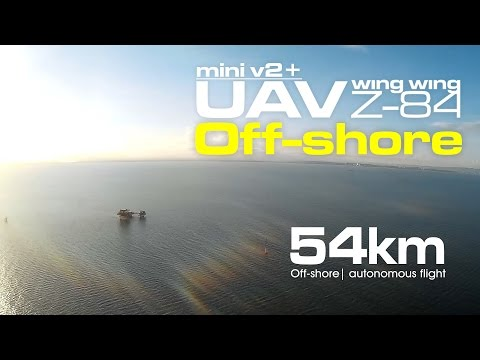 54km Off-shore- Mini UAV Wing Wing Z-84