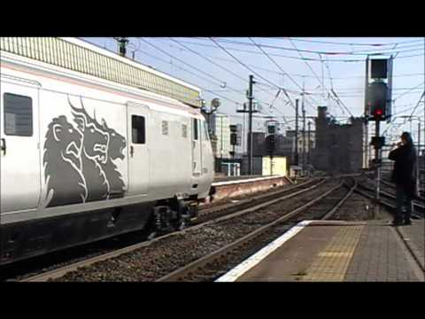 DB Shencker Management Train through Newcastle - 28/09/2011