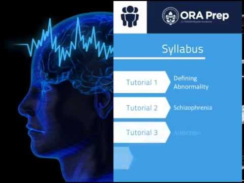 Abnormal Psychology Online Course