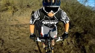 RIDER CON UN 30% DE VISION TUTE ( Rider with only 30% of vicion)