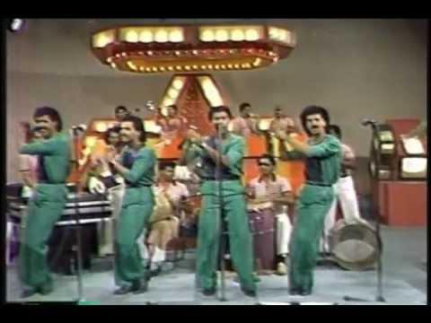 LOS KENTON (video 80's) - Palo Con Ella - MERENGUE CLASICO
