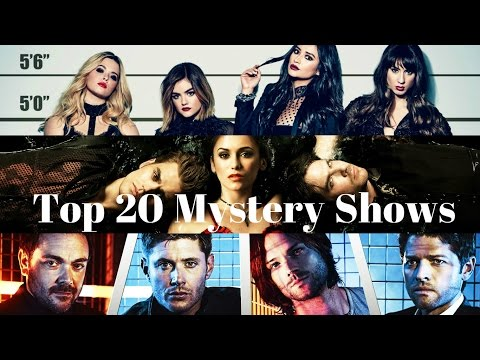 Top 20 current Mystery Shows / Series 2016
