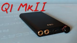 fiio Q1 MK II Portable Headphone DAC Amp Review after 4 months